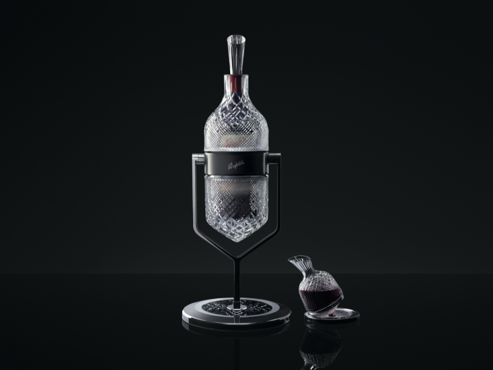 Penfolds Grange is launching two special packages for its 2012 vintage: the Aevum Imperial Service Ritual and the Aevum decanter, both created in collaboration with French crystal house Saint-Louis.