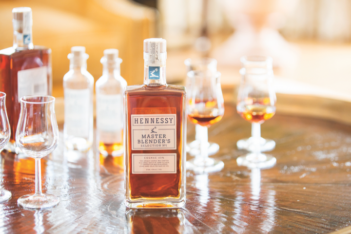 Hennessy's latest innovation, Master Blender's Selection No. 1, has a retro-oriented look and feel that sets it apart from the core line.