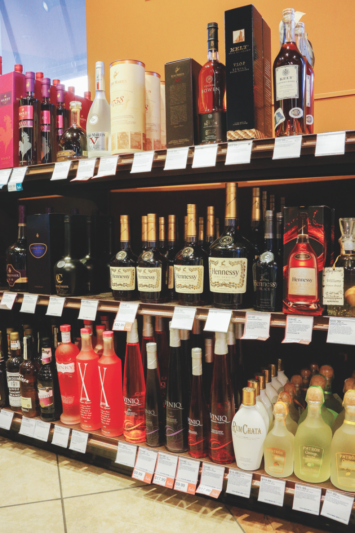 Retailers (Florida's ABC Fine Wine & Spirits pictured) say that the Cognac category still shows room for more growth.