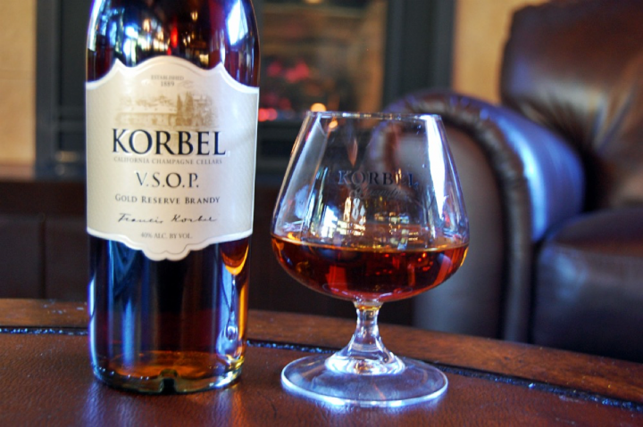 Korbel features a ladder of labels, from entry-level and X.S. offerings to a VSOP variant (pictured) and a 12-year-old expression.