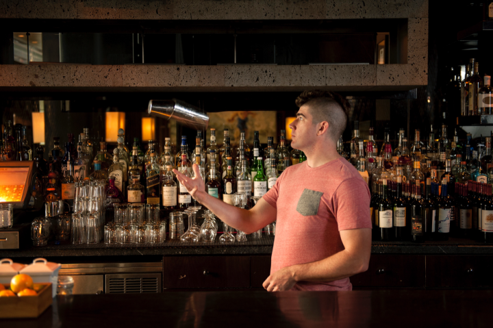Director of bars Mike Ryan says the company's willingness to support new ideas is a major draw for career bartenders like himself.