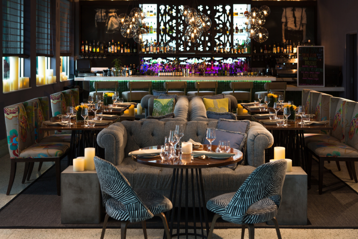 Kimpton is looking to increase its focus on its nightlife offerings, including upscale lounges like the Social Club in Miami.