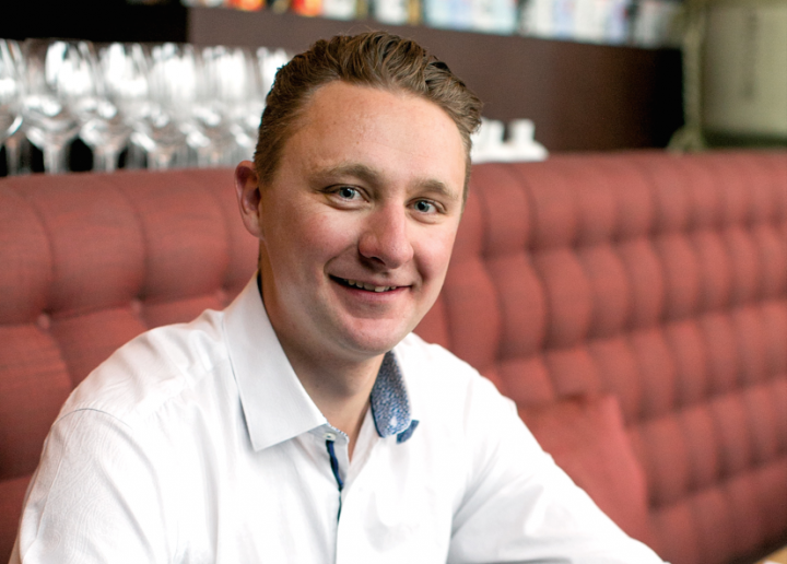 Austrian native Andreas Harl oversees the beverage program at Matsuhisa in Vail, Colorado. He says white wines like Grüner Veltliner work well with Japanese ingredients.