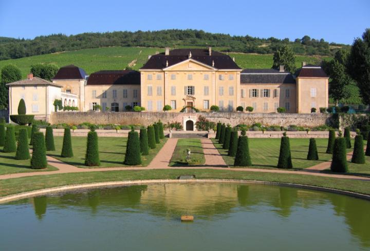 The company's Esprit du Vin division features upscale French wineries like Château de la Chaize (pictured).