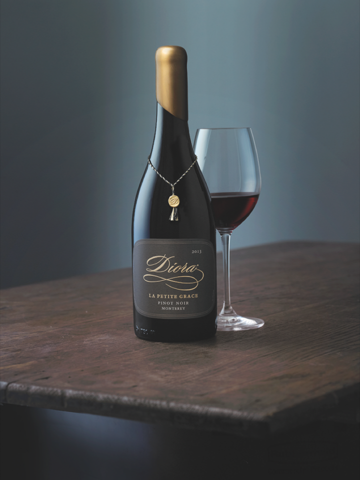 Delicato Family Vineyard's Diora La Petite Grace is sourced from the San Bernabe vineyard in the Santa Lucia Highlands.