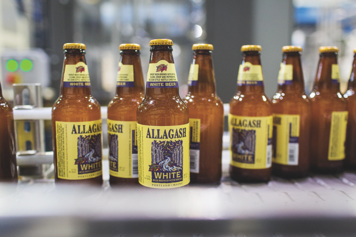 The brand's flagship beer, Allagash White, accounts for around 75 percent of total volume.