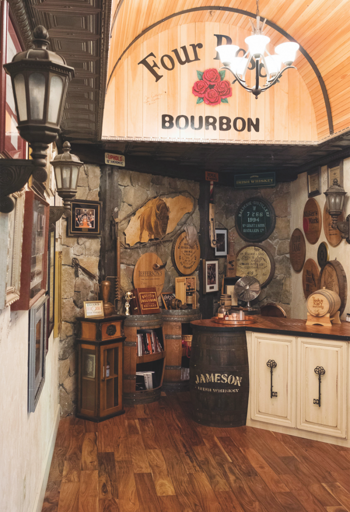 Julio's Liquors, located in Westborough, Massachusetts, offers many exclusive-barrel spirits, and the store allows other Massachusetts retailers to sell the same stock.