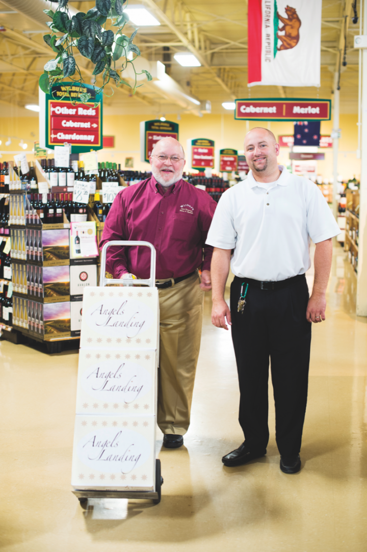 At Wilbur's Total Beverage (pictured), managing partner Matt Dinsmore (right, with Dennis Dinsmore, left) will look for opportunities to expand his business under the new law.
