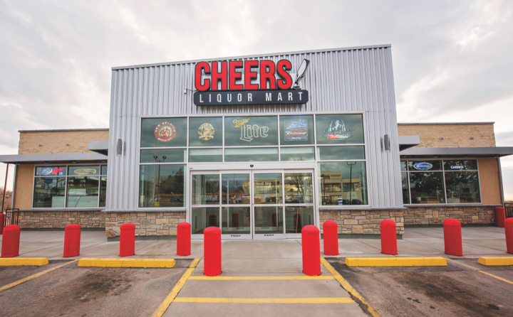 Cheers Liquor Mart in Colorado Springs (pictured) already exists in a competitive market, and the limitations on grocery store licensees make it likely that small, independent stores will continue to play a critical role in the Colorado market even as the new law rolls out.