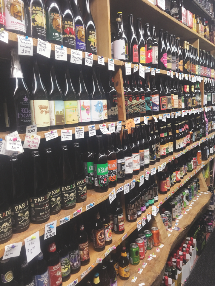 At Casanova Liquor in Hudson, Wisconsin, customers are gravitating toward fruit-flavored IPAs, which are considered more approaching, building on a trend that started last year and continues going forward.