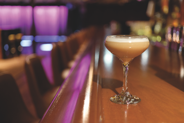 Vodka can work with an array of flavors in drinks, like the Espresso Martini (above) at Boston-based Capo.
