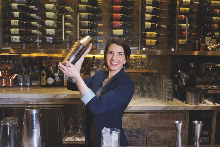 Crave Fishbar's head bartender, Kat Gordon (pictured), embraces rum's resurgence in restaurants.