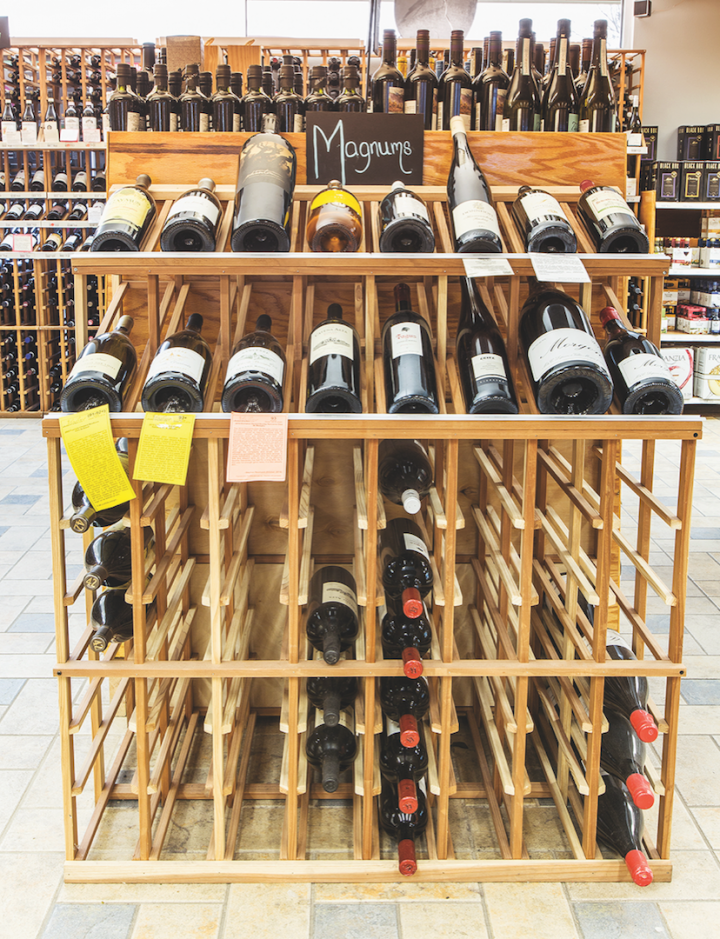 Wine trends toward out-of-the-ordinary offerings that aren't available at other stores.