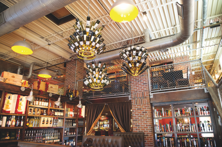 Vodka selections at Datz (interior pictured) in Tampa, Florida, are focused on core flavors like citrus and vanilla that mix well in a number of cocktails, as well as offerings that overdeliver on quality.