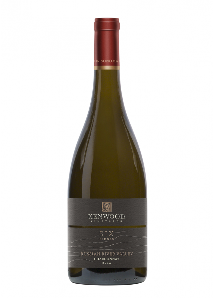 The new Six Ridges collection (Russian River Valley Chardonnay pictured) is Kenwood's premium offering.