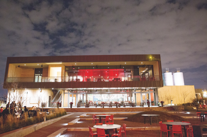 Surly Brewing (exterior pictured) successfully pushed for Minnesota to allow craft brewers to sell their beers for on-premise consumption. The brewery produces Furious IPA, a Twin Cities favorite.