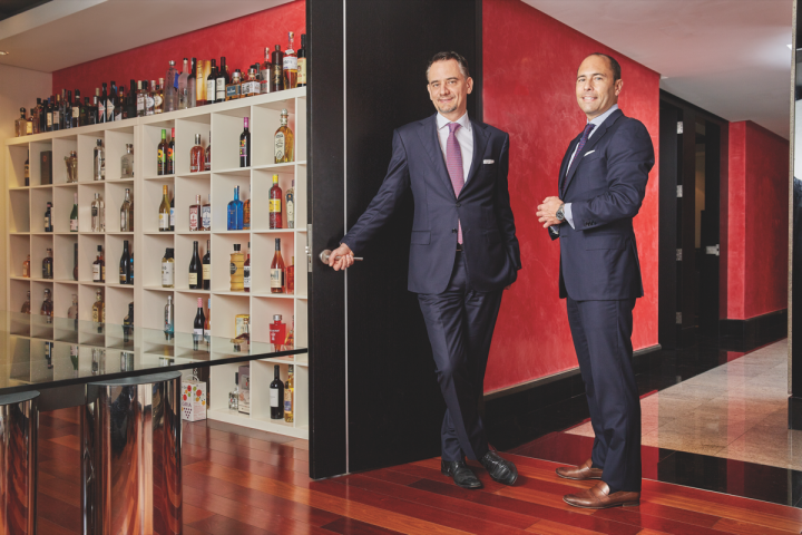 Park Street Imports was founded by CEO Harry Kohlmann (left) and president Chris Mehringer (right).