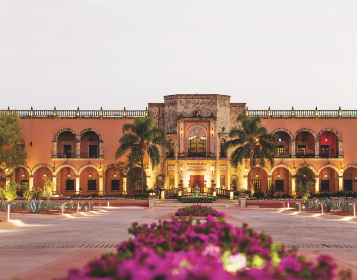 Hacienda Patrón was built in 2002 and houses the brand's distillery.