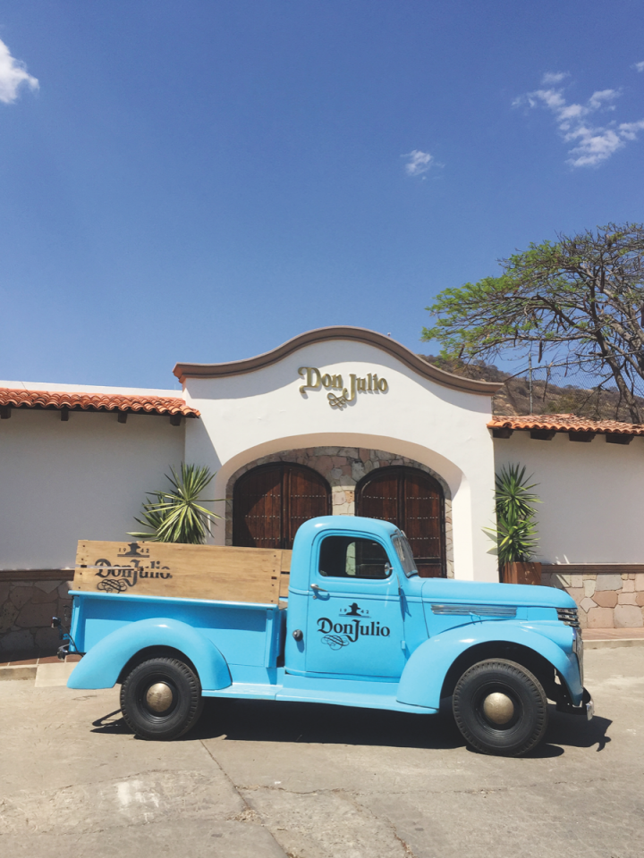 The Don Julio distillery (pictured) produces a lineup led by Don Julio 1942, one of the most sought-after luxury Tequilas on the market.