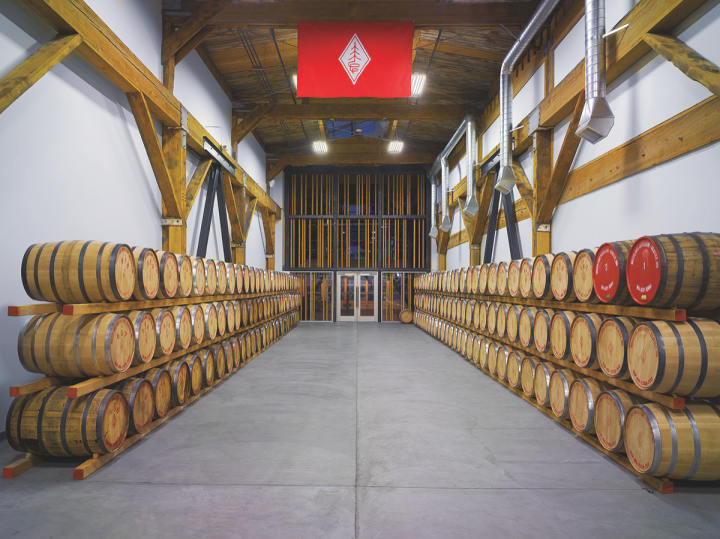 Westland (barrels pictured) launched in 2010, and Hofmann continues to run the company following its acquisition by Rémy Cointreau last year.