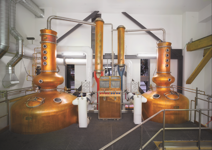 Westland (stills pictured) produces around 1,000 casks a year, with capacity for up to 4,000 casks.