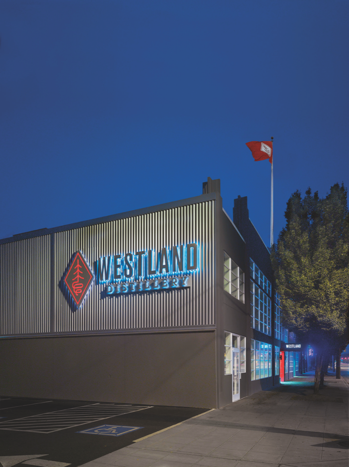 Located in Downtown Seattle, Westland (exterior pictured) features a robust visitor experience.
