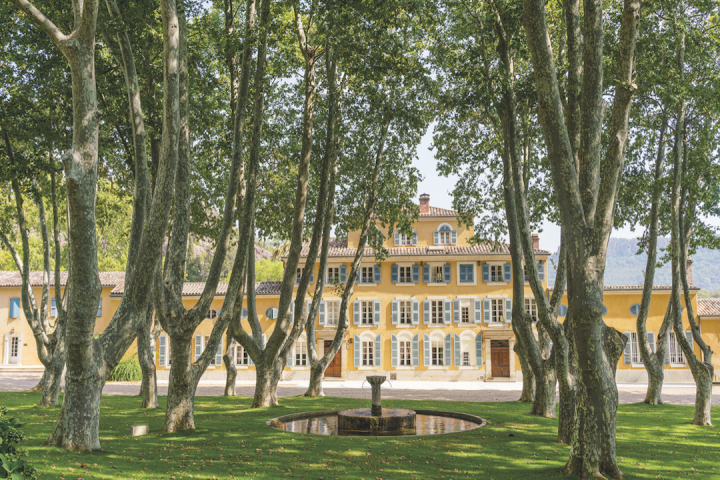The Château d'Esclans (exterior pictured) portfolio includes several rosé labels, such as Rock Angel, Les Clans and Garrus. New entries raise consumer awareness and highlight the wine's quality and versatility, benefiting the category as a whole.