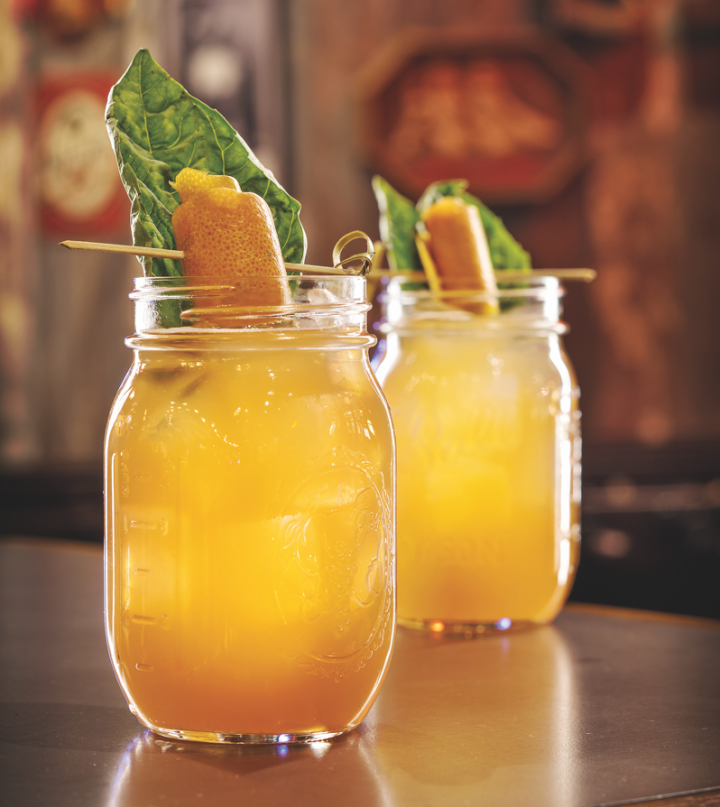 Small amounts of spirits in combination with beer or wine keep cocktails light. The Lucky Luciano at The Still in Las Vegas features Tequila and Stiegl Radler grapefruit beer.