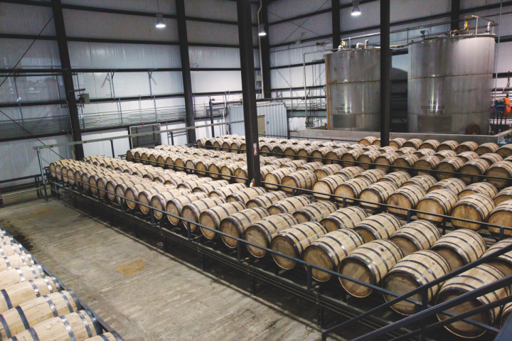 Wild Turkey Distillery (barrels pictured) offers exclusive Russell's Reserve Bourbon barrels to on- and off-premise accounts.