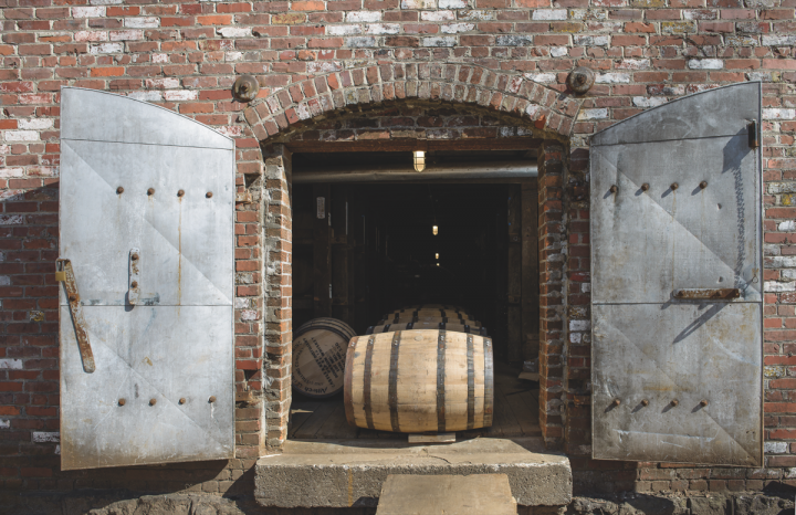 New plays like Castle & Key (barrels pictured) are entering the vibrant Bourbon category as it takes off.