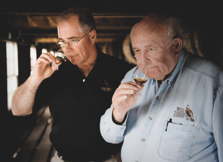 Wild Turkey has been expanding rapidly since debuting its new distillery. The company has opened new warehouses every year and filled them to capacity (master distillers Eddie Russell and Jimmy Russell pictured).