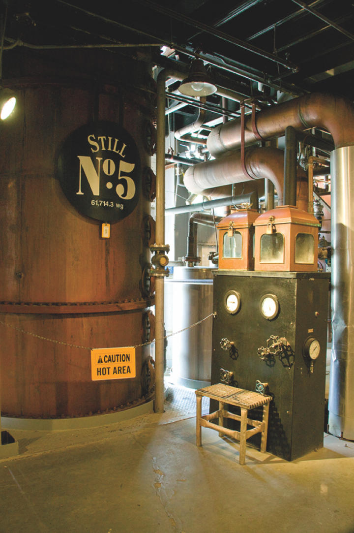 Jack Daniel's (stills pictured) remains Brown-Forman's largest brand in the Bourbon and Tennessee whiskey space.