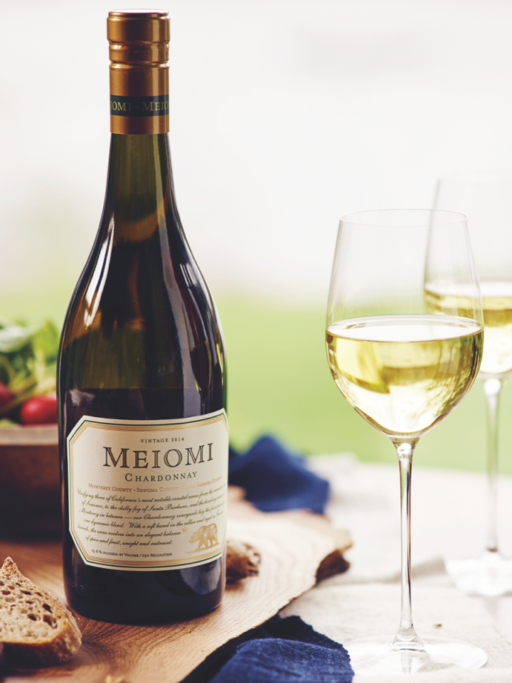 Meiomi's Chardonnay (pictured) is one of the three top-performing Chardonnays in Constellation's portfolio.