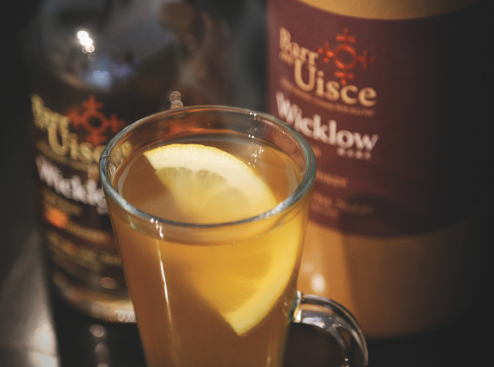 Some Irish whiskey newcomers, like Barr an Uisce (whiskey pictured) have entered the market sans distillery.