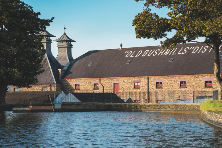 In Northern Ireland, Jose Cuervo–owned Bushmills (distillery above) has pursued a strategy of innovation while also remaining committed to age statements.