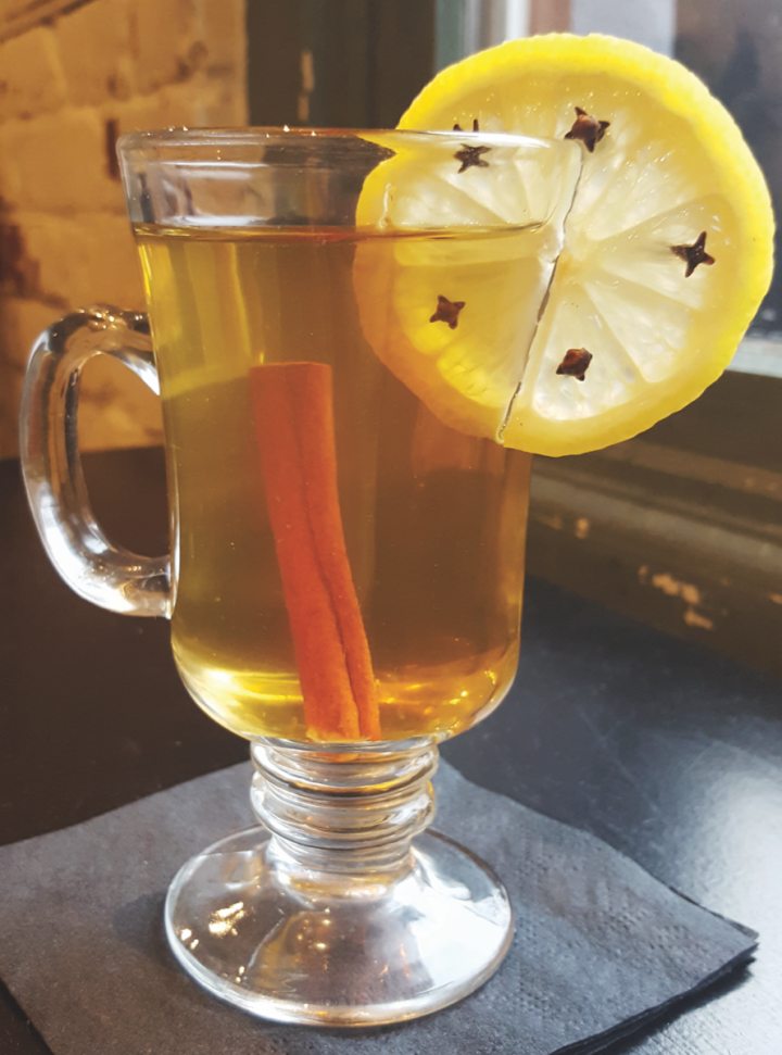 Beer and cider cocktails can work year-round. The Mela Cattiva, a winter cocktail, blends sparkling cider, Calvados, tea and spices.