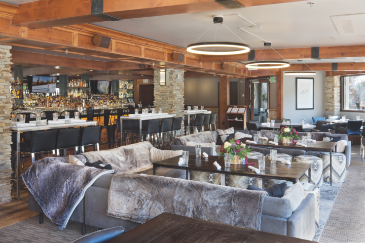 PlumpJack Group operates an expansive range of businesses, from hotels and restaurants to wineries and wine stores. White Bison Lounge (pictured) offers upscale new American cuisine in Vail, Colorado.