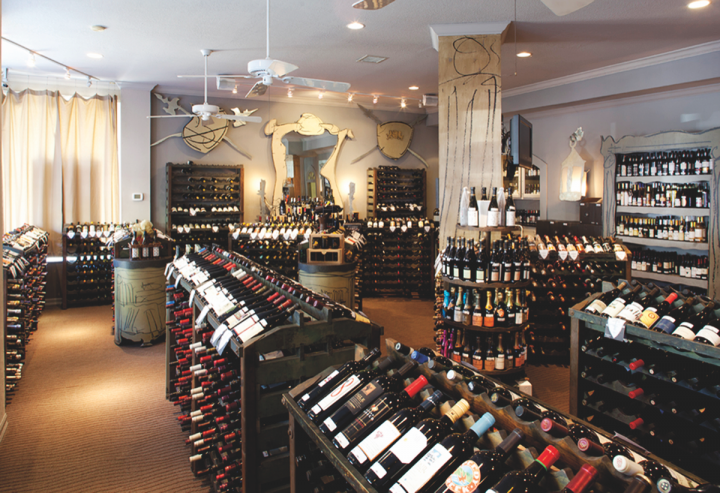 PlumpJack Group's first concepts, the retail store PlumpJack Wine & Spirits (pictured) and nearby restaurant Balboa Café, both in San Francisco, opened over two decades ago.