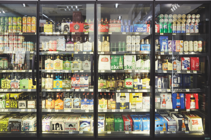Beer is Walgreen's single largest category, producing $400 million in revenue.