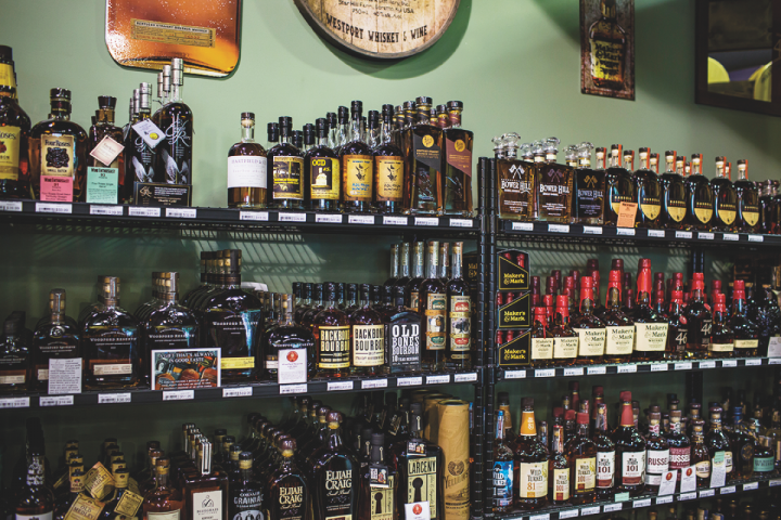 Whisk(e)y makes up more than half of Westport's spirits sales.
