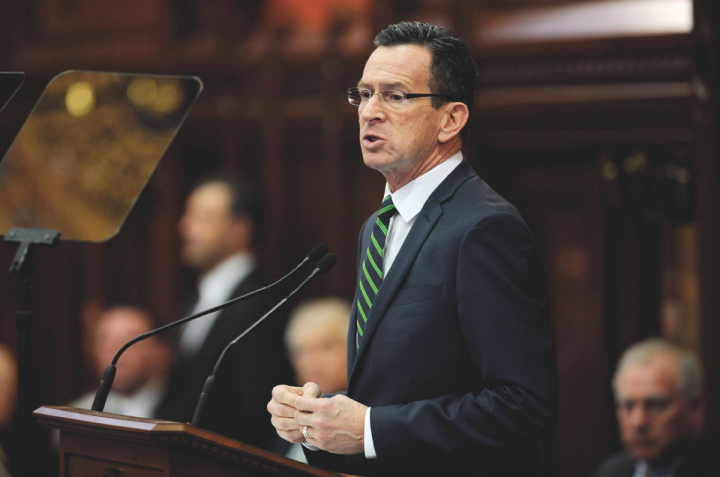 Connecticut governor Dannel Malloy (pictured) supports changing the laws surrounding the state's beverage alcohol retail industry and making them more appealing to national chains.