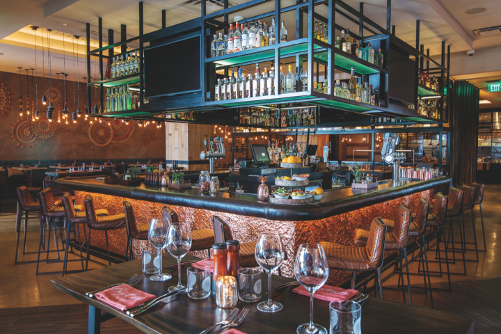 Last year, Grove Bay opened the South Africa–themed Big Easy Winebar & Grill in partnership with internationally recognized South African golfer Ernie Els.