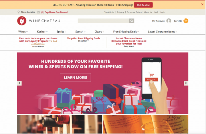 In recent years, Abrol refreshed the company's e-commerce platform and redesigned the website (updated homepage pictured), with the goal of attracting millennials.
