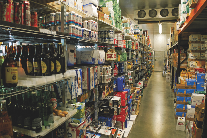 Wine Chateau stocks roughly 1,000 beer SKUs, which account for around 30 percent of total sales. The retailer does not sell beer online.