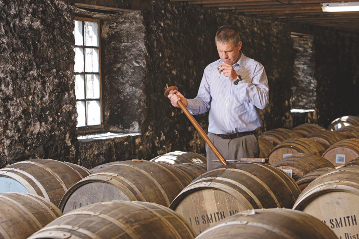 Some of The Glenlivet's new expressions are Bourbon-influenced to lure new consumers, while others are non-age statement products designed to manage inventories amid strong demand (The Glenlivet master distiller Alan Winchester pictured).