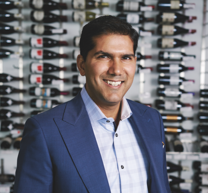 Saurabh Abrol, Wine Chateau's CEO and president, has made his New Jersey business a national company.