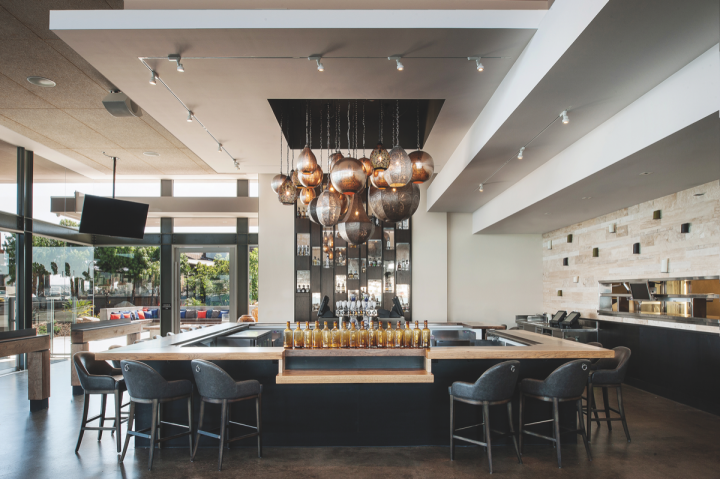 Cohn owns and operates 23 unique venues, including San Diego–based fine dining restaurant Coasterra (interior above).