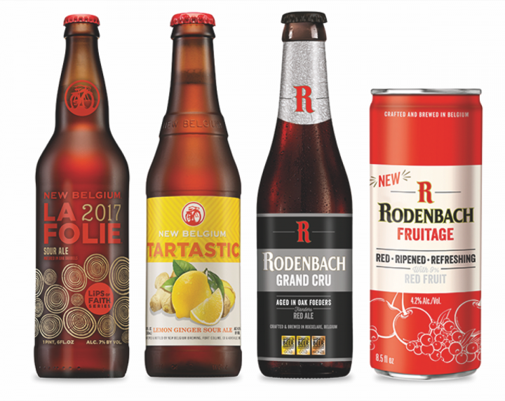 Gourmet grocery store DeCicco & Sons sources sours from craft brewers like New Belgium and classic producers like Rodenbach.