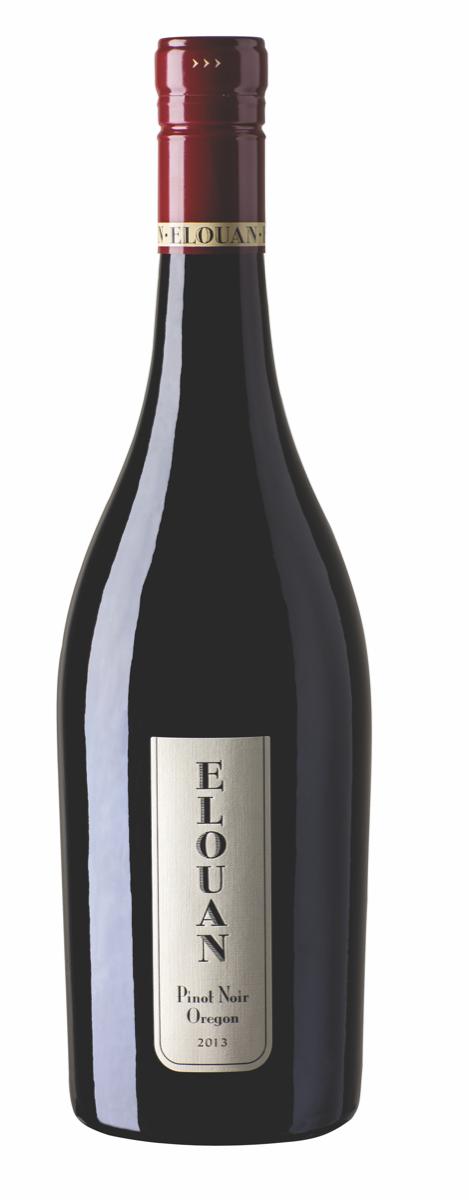 The Elouan Pinot Noir blends grapes from Oregon's Willamette, Umpqua and Rogue Valleys.