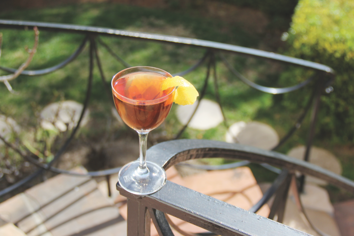 The Cognac Park (Fin Bois Single Cru Organic–based cocktail pictured) portfolio includes traditional expressions, as well as esoteric releases like Borderies, which hails from Cognac's smallest region.